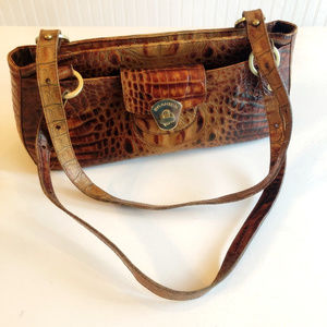 EXOTIC Brahmin Authentic Designer Leather Purse